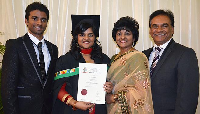 Graduating honours cum laude