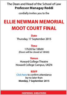 Elle Newman Moot court